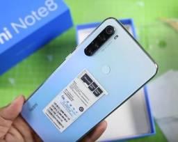 Caixa Lacrada - Xiaomi Redmi Note 8 - 128GB ou 64GB Rom - Versão Global + Capinha