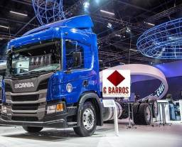 NV : Scania P280 6x2 Completo Aut Chassis 2021