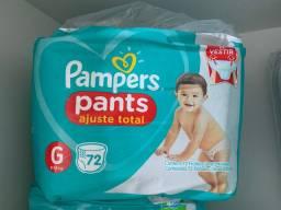 Fralda Pampers pants G 72 unidades
