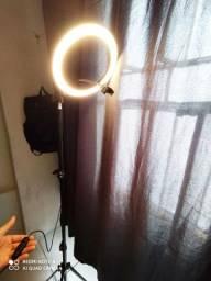 Ring light 26 cm+ tripé 2,1m + suporte para celular