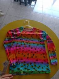 Camisa UV feminina