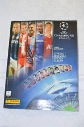 Álbum De Figurinha Uefa Champions League 2010-2011 Completo