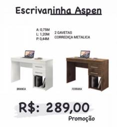 Mesa de estudos Aspen promoção(escrivaninha)
