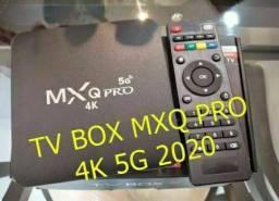 TV BOX MXQ PRO 4K 5G 2020 - Sua TV em Smart