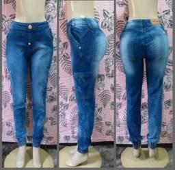 Calças Jeans cintura alta Número 42