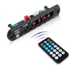 Placa para Amplificador - Modulo USB Mp3 Bluetooth - 12v