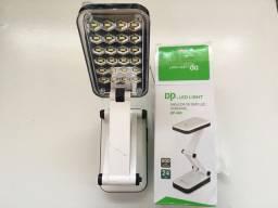 Luminária Abajur LED Recarregavel