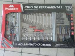 Kit ferramentas worker 110 peças