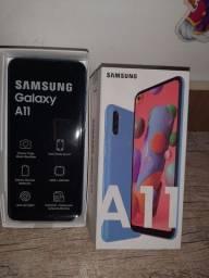 Vendo Galaxy  A11 novo 900
