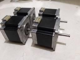 04 Motores de passo CNC router e impressora 3d super barato. Com garantia