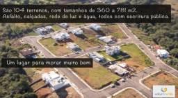 Lote no solar do valle 360m² em Joaçaba - Financiamento com a construção