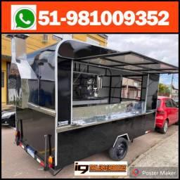 Food truck trailer lanche