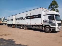 MB truck 2533, com Julieta