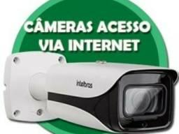 Kit 4 cameras com instalação completa