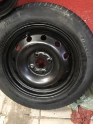 Roda 14 com pneu