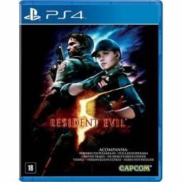 Resident Evil 5 PS4 Lacrado em Português