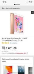 iPad 6th geração 128gb