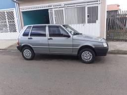 Fiat Uno Mille Fire Flex 4Pts Cinza 05/06