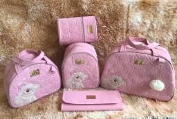 Kits de Bolsas para bebê com 5 peças