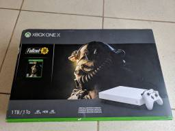 Xbox One X White Edition - Fallout 76 bundle edition