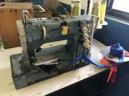 Máquina Galoneira industrial Juki + lote de fios