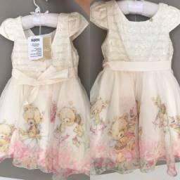 Vestido de festa infantil tam. 2 anos