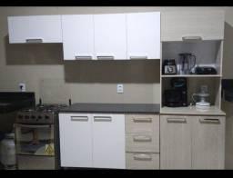 Armário de cozinha completo aceito cartão