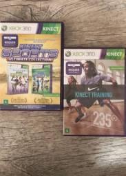 Combo 3 jogos kinect Xbox 360