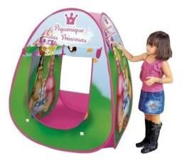 Barraca Meninas Princesas Infantil Desmontável Piquenique ( aceitamos cartão)