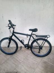 Bike semi nova zera nada pra fazer pegar e andar