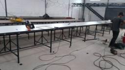 Fabricamos mesas de silk é cortês etc