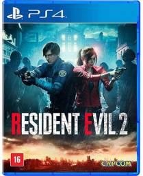 Resident Evil 2 PS4 Lacrado em Português