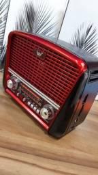 Rádio Portátil Bluetooht (Entrega Domiciliar Grátis)
