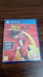 Jogo de PS4 dragon ball kakarot lacrado! Sou de Itu