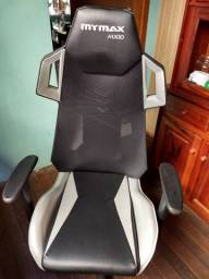Cadeira Gamer Mymax MX10 Preta/Prata