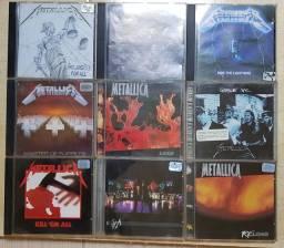 Pacote 9 CDs Metallica - Raridade