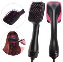 Escova Secadora Alisadora Almofadada Ufree Hair Dryer Styler novo ( aceitamos cartão)