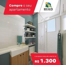 More na maraponga Sinal apartir 49,00 R$ entrada 72X renda 1.300 R$ Apartamento 2 quartos