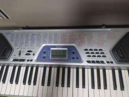 Teclado Musical Casio CTK-481 +Capa + Pedestal