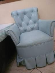 Poltrona azul bebê