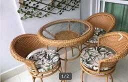 Jogo Cadeiras Jardim Piscina Area Gourmet Sacada Varanda Sala de Estar .