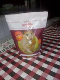Ração para: hamster, rato, chinchila e pequenos roedores