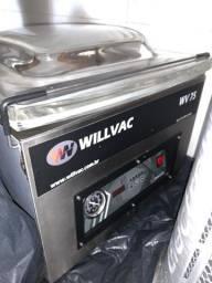 Máquina de Embalar a Vácuo - Com 2 Barras de Selagem