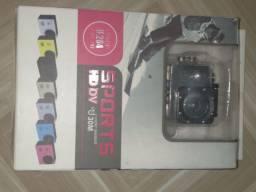 Camera sport seminovo na caixa