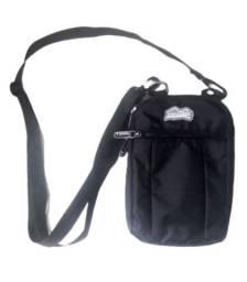 Shoulder Bag com fixador de cinto e presilha de cintura