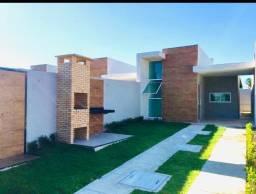 WS linda casa nova no Eusebio com 2 quartos 2 banheiros , fino acabamento