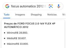 Focus 2.0 Automatico flex 2012