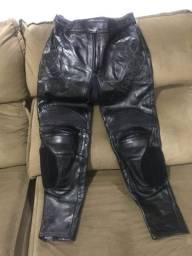 Equipamento de proteção para motociclista 2 partes