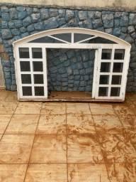 Vendo 5 janelas e 3 portas