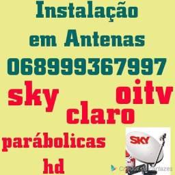 Sintonia sky claro parabolicas///
